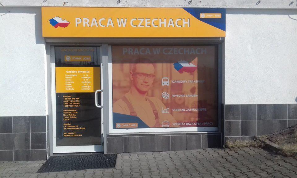 Kancelář v Polsku