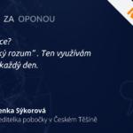 |COMAC ZA OPONOU| #3 Lenka Sýkorová – Ředitelka pobočky v Českém Těšíně
